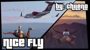 Nice Fly  - мод на полеты персонажа в gta5