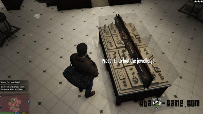 Vangelico Jewellery Store Heist миссия ограбления ювелирного