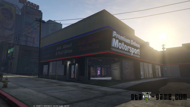 Car Shop mod - мод на магазин машин в гта 5