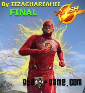 The Flash - текстуры Флеша в гта 5