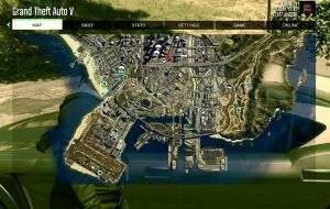 Satellite View Map вид со спутника, карта в гта 5