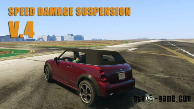 Speed Damage Suspension - мод на реалистичность машин в гта 5