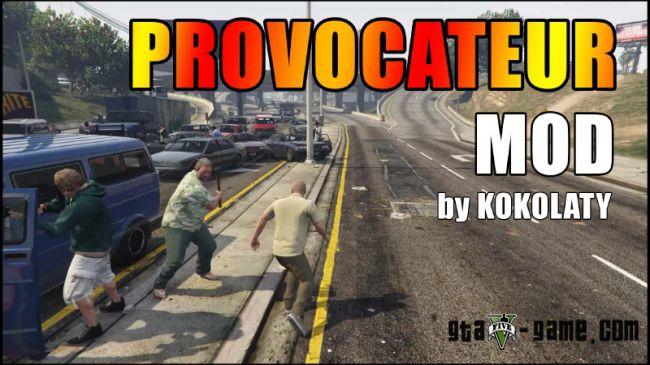 Provocateur провокатор беспорядков, мод для гта 5