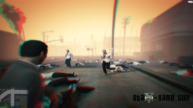 Zombies - мод на зомбиволны миссии в гта 5