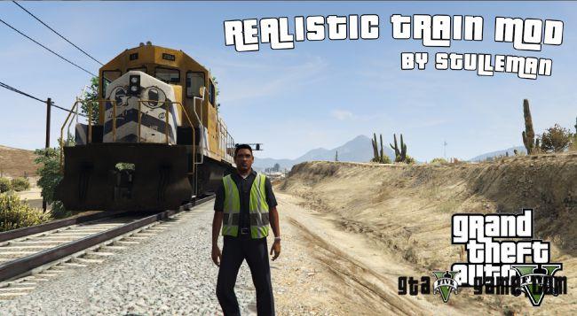 Realistic Train Mod - как рулить поездом в гта 5 пк?