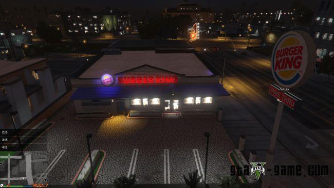 Burger King - текстуры бургер кинг для кафе в гта 5