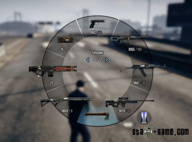 HD Weapon Icons - иконки оружия в высоком разрешении