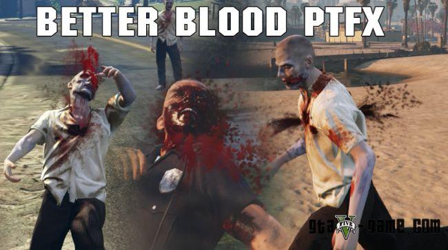 Измененные эффекты попадания пуль, больше крови