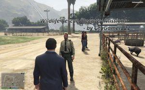 Wildlife Rescue мод на миссии охотника\лесника в гта 5