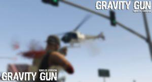 Gravity Gun мод на  гравипушку в гта 5