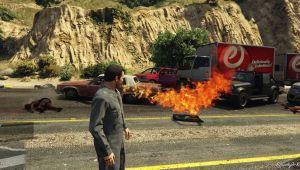 Firebreather - мод на огненное дыхание в гта 5