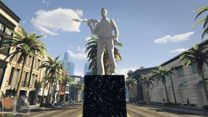 Tommy Vercetti Statue — Статуя Томми Версетти