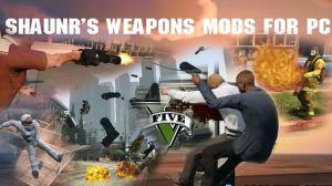 Shaunr's Weapon Mods - прикольное оружие в gta 5