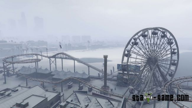 Singleplayer Snow - снег, зима и снежная погода в gta 5