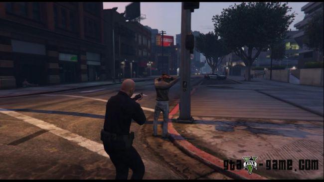 скачать мод на арест для гта 5