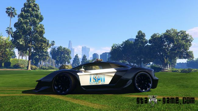 Lamborghini Police [Zentorno] - полицейская Ламборгини в гта 5