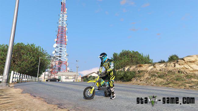 Sanchez - PitBike - питбайк, новый мотоцикл в гта 5