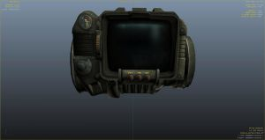 Pip-Boy 3000 - Пип-Бой из fallout в gta 5