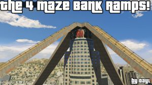 The 4 Maze Bank Ramps - 4 большие рампы в центре города