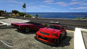 1000 Modded Cars - больше интересных машин на карте игры