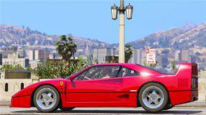 1987 Ferrari F40 - мод на Феррари в гта 5