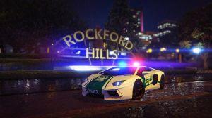 Dubai Police - Lamborghini Aventador- полицейская Ламбо