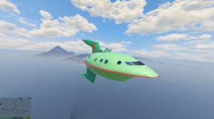 Planet Express Ship - корабль из футурамы в гта 5