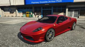 Ferrari F430 - новая машина Феррари в гта 5