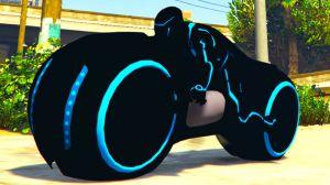 Tron Bike - новый мотоцикл из фильма Трон в гта 5