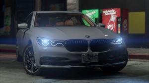 BMW 750Li - новое авто - бмв 7 серии для гта 5