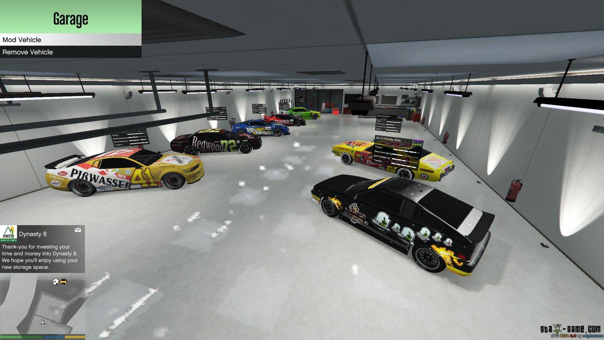 Gta 5 Spezielle Fahrzeuge Garage
