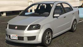 Lada Priora Hatchback - Лада приора Хечбек для гта 5