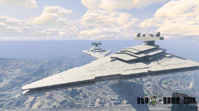Imperial Star Destroyer - корабль из звездных войн в гта 5
