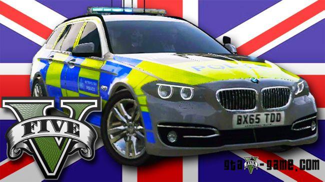 Police BMW 525D F11 - полицейская БМВ для гта 5