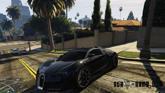 Bugatti Veyron - мод на новый автомобиль Бугатти Вейрон в гта 5