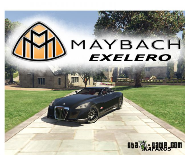 Maybach Exelero - мод на Майбах Экселеро для гта 5