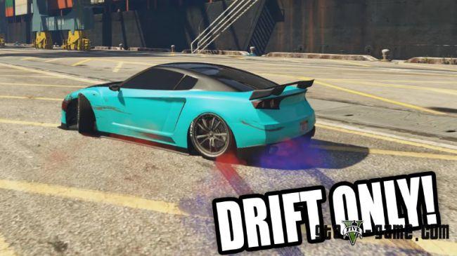 Real Drift Mod - Choose Any Car - дрифт на любой машине гта 5