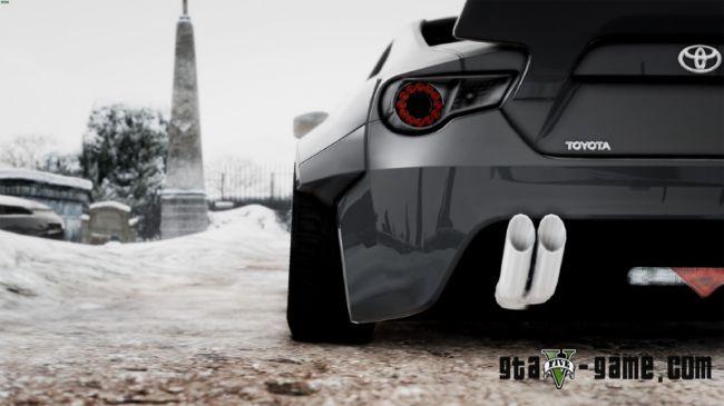 Rocket Bunny Toyota GT-86 - отличный спортивный автомобиль в гта 5