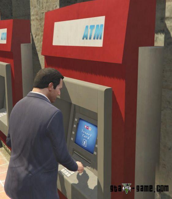 AccountInBank - мод на вклады и банкоматы в гта 5