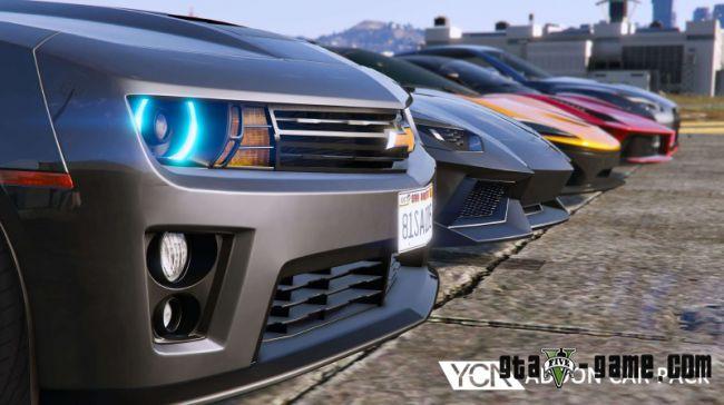 YCA Addon Car Pack - сборник новых машин для гта 5