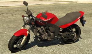 BMW R 1100 R - новый мотоцикл в гта 5