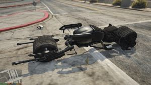 Batpod - мод на Мотоцикл Бэтмена в гта 5