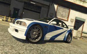 BMW M3 GTR E46 - мод на бмв М3 е46 для гта 5