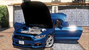 Ford Mustang GT 2015 - мод на форд мустанг для гта 5