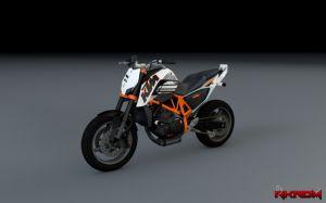 KTM Duke 690 - новый мотоцикл в гта 5
