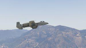 A-10A Thunderbolt II - мод на новый самолет для гта 5