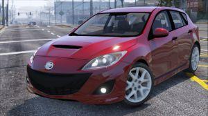 Mazda Speed 3 - мод на Мазду 3 для гта 5
