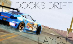 Docks Drift Layout - трасса для дрифта в доке гта 5