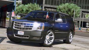 Cadillac Escalade ESV - кадиллак эскалейд в гта 5