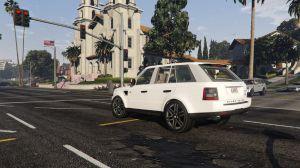 Range Rover Sport - новый автомобиль рендж ровер спорт для гта 5